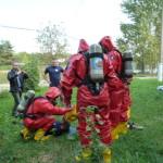 """Плановые учения аварийно-спасательного формирования """"Проект"""""""
